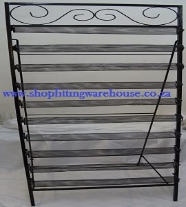 10-tier Metal bracelet display Stand