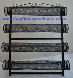 4 Tier Metal Bracelet Display Stand