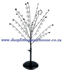 Metal Star Tree Earring Display