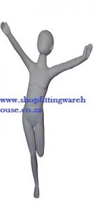 Abstract Kiddies High Gloss Mannequin