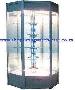 Hexagon Glass Cabinet