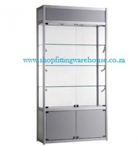 Rectangular Glass Display Cabinet