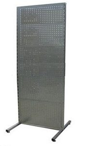 Steel Pegboard with Wheels