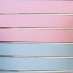 blue Pink SlatWall