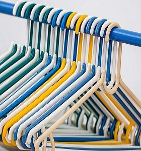 Plastic Hanger in Assorted Colours