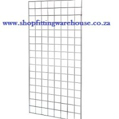 White Gridmesh Panel - 2mx1m, 1.5mx1m, quarter panels