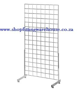 Gridmesh Panel Stand with Wheels - 2m x 1m and 1.5m x 1m