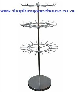 Metal Rotating Jewelery Display Rack