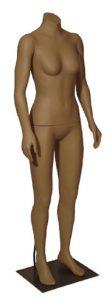 Skintone Headless Female Mannequin