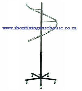 Spiral Clothing Rail